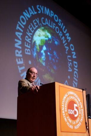 Edgar Mitchell, Apollo 14 Astronaut and 6th man to walk on the Moon, ISDE5 keynote speaker
