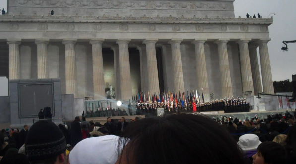 """You'll Never Walk Alone"" at the Lincoln Memorial"