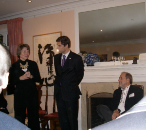 Lynne Twist, Mathis Wackernagel, and Freddy Ehlers